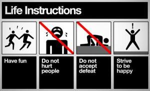 life-instructions
