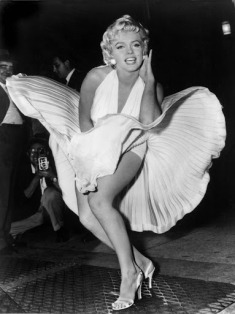 Marilyn Monroe fotografiert am 01. September 1954 von Matthew Zimmermann